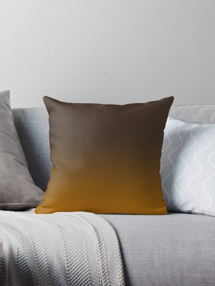 Beautiful Cushions/ Gradient Bistre Ginger by ozcushions
