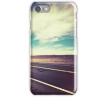 Road in the Desert iPhone Case/Skin