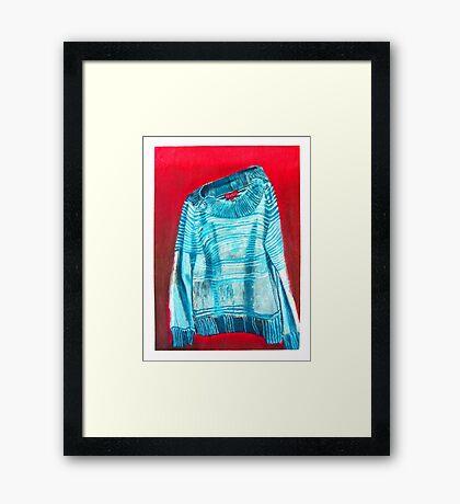 Revival Sweater Framed Print