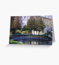 Oasis In The Launceston Tasmania Greeting Card