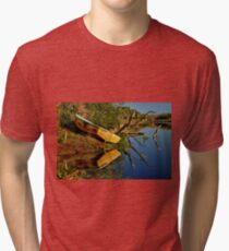 """Creekside Reflections"" Tri-blend T-Shirt"