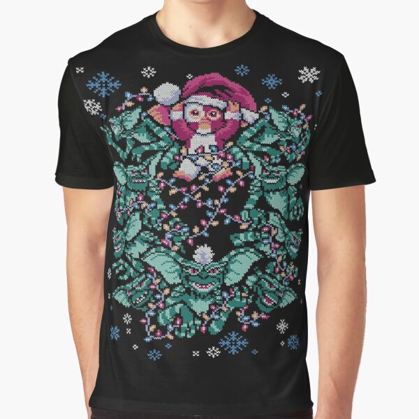We Wish You a Gremlin Christmas Graphic T-Shirt