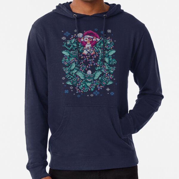 We Wish You a Gremlin Christmas Lightweight Hoodie