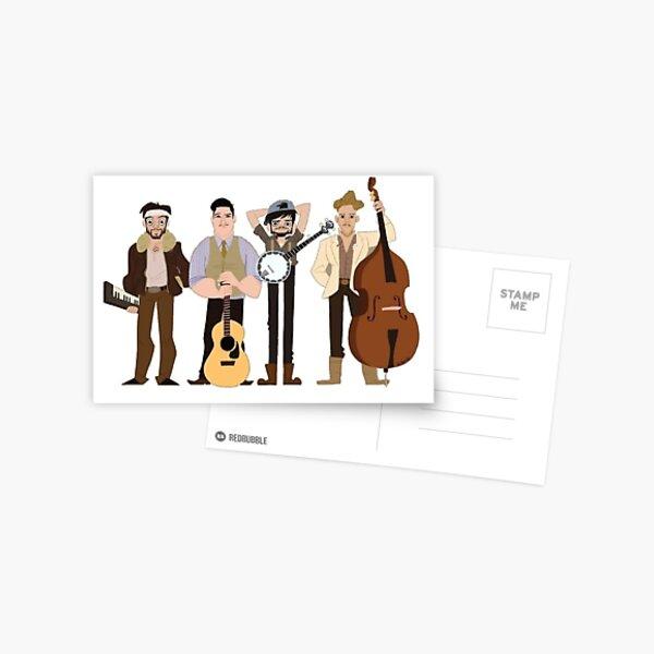 Mumford and sons Postcard