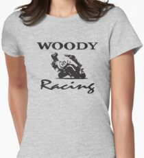 Woody Racing Women's Fitted T-Shirt
