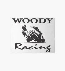 Woody Racing Art Board