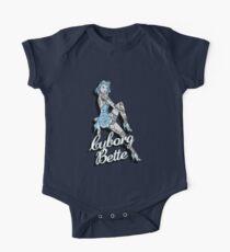 Body de manga corta para bebé Cyborg Bette (Bettes FB Custom)