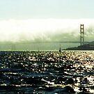 Golden Gate Bridge from a Boat, San Francisco by Igor Pozdnyakov