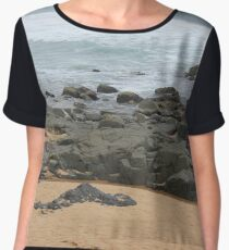 It was love at first sight... the day I met The Beach Chiffon Top