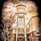 Hollywood Water Tower by Joe Lach