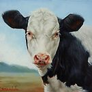 Portrait Of A Calf by Margaret Stockdale