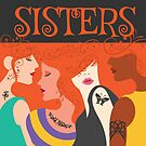 Sisters Four Women Best Friends Tattoo Redheads by TheKitch