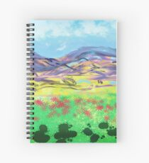 Bluebirds fly again Spiral Notebook