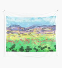 Bluebirds fly again Wall Tapestry