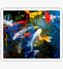 Koi Fish Family Sticker