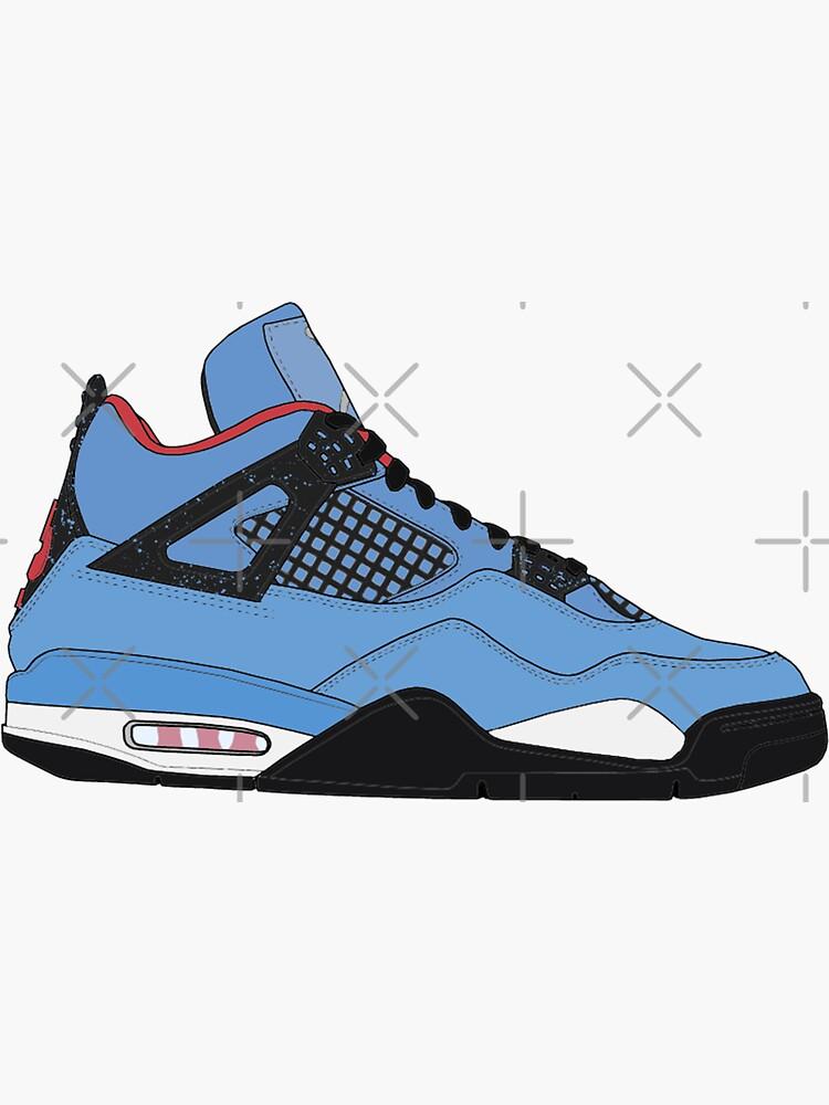 "Air Jordan IV (4) ""Cactus Jack"" by gaeldesmarais"