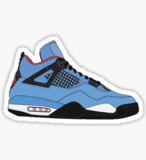 """Air Jordan IV (4) """"Kaktus Jack"""" Sticker"""