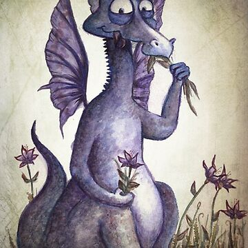 Purple Dragon by beckyb