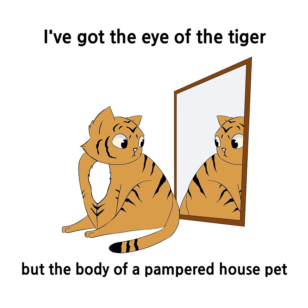 Eye of the Tiger Design by Blenderbeetle