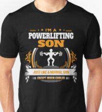 Powerlifting Son Christmas Gift or Birthday Present Unisex T-Shirt