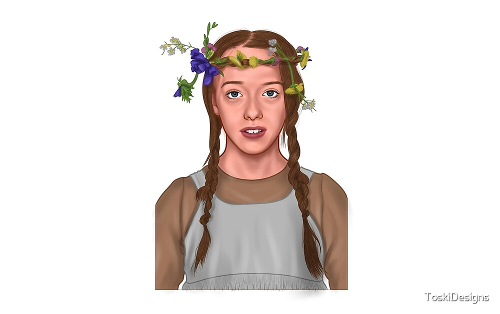 Anne With The Flower Crown by ToskiDesigns