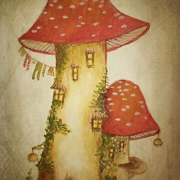Just Another Toadstool House  by beckyb