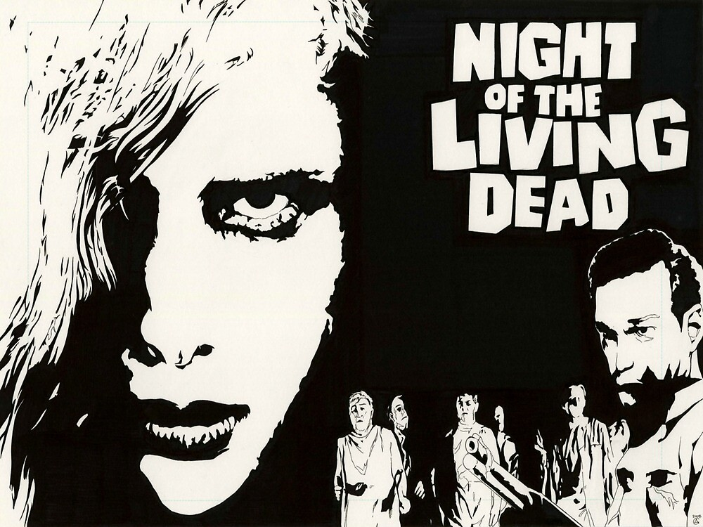Night of the Living Dead by classicscatalog