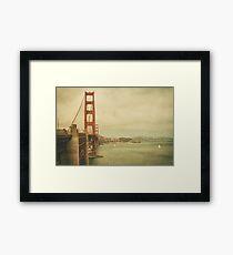 Vintage Gate Framed Print