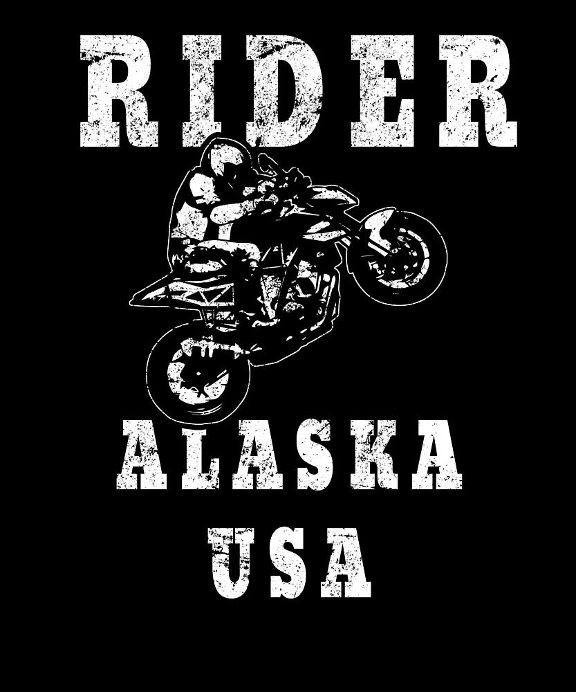 Rider Alaska USA - Used Look Motorcycle Alaska by DennBa