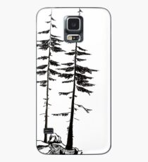 Pines on a Hill - Ink Case/Skin for Samsung Galaxy