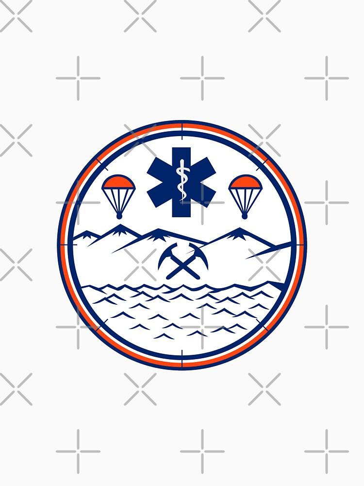 Land Sea Air Rescue Icon by patrimonio