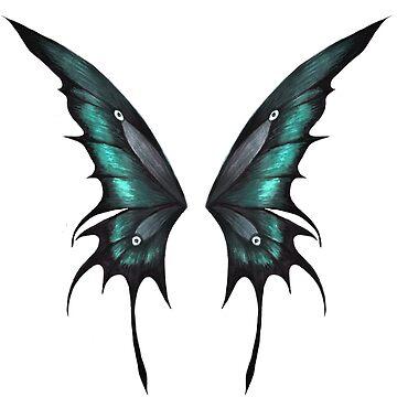 Green Wings Hoodie by beckyb