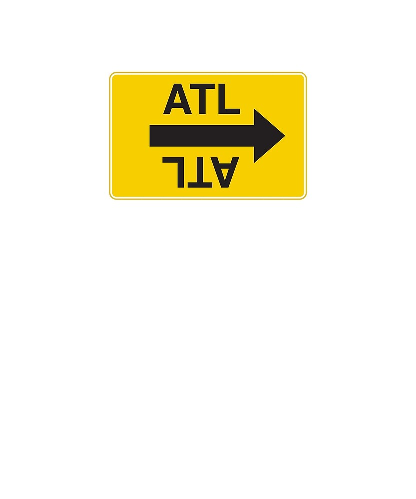 Atlanta Movie Shooting Sign by markolisinac