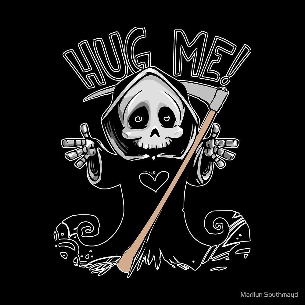Halloween Hug Me!  Angel of Death by Marilyn Southmayd