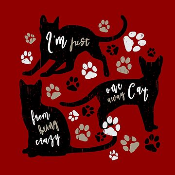 Cat Owner Gift Funny Kitty Paw Lover Graphic Art by STYLESYNDIKAT