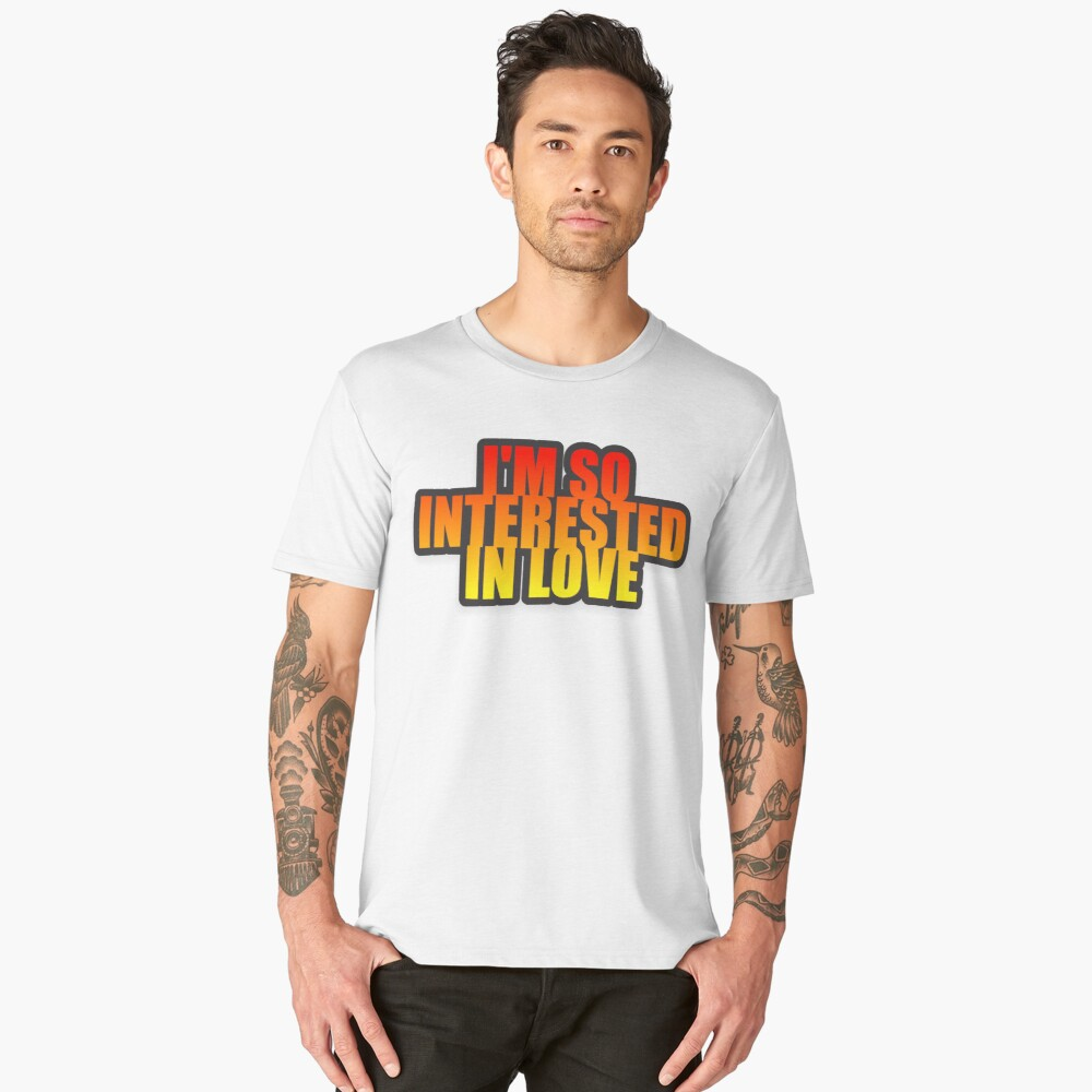 I'm so Men's Premium T-Shirt Front