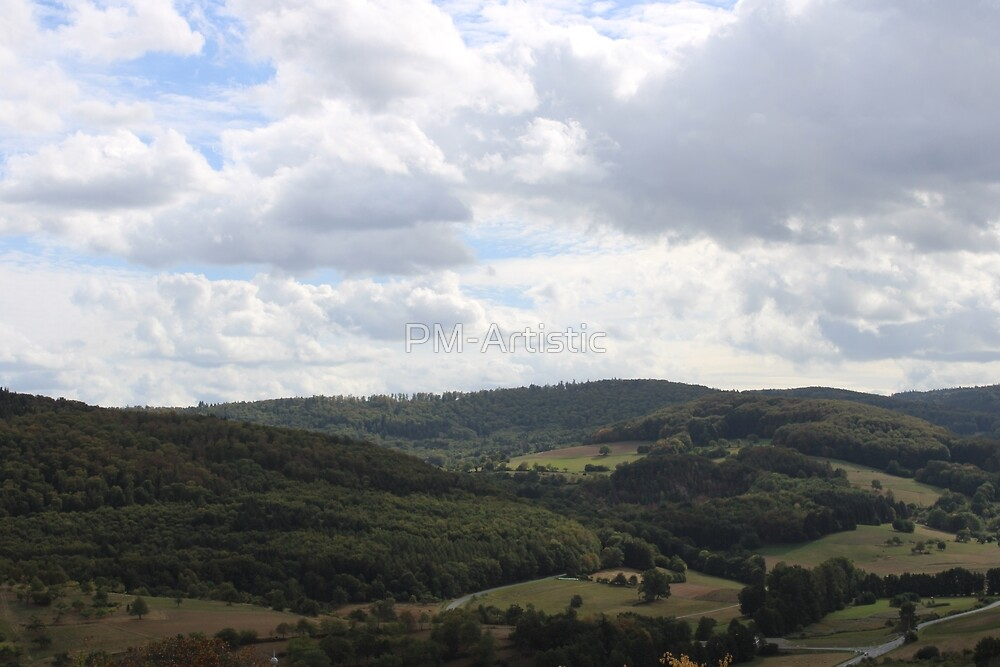 Photography Landscape shot from the Fischbachtal in Germany by PM-Artistic