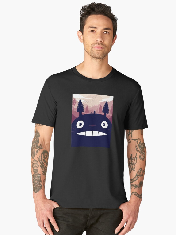 totoro anime Men's Premium T-Shirt Front