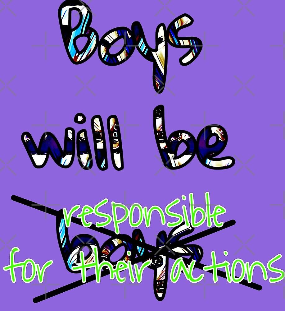 Boys will be responsible  by NeverNanashi