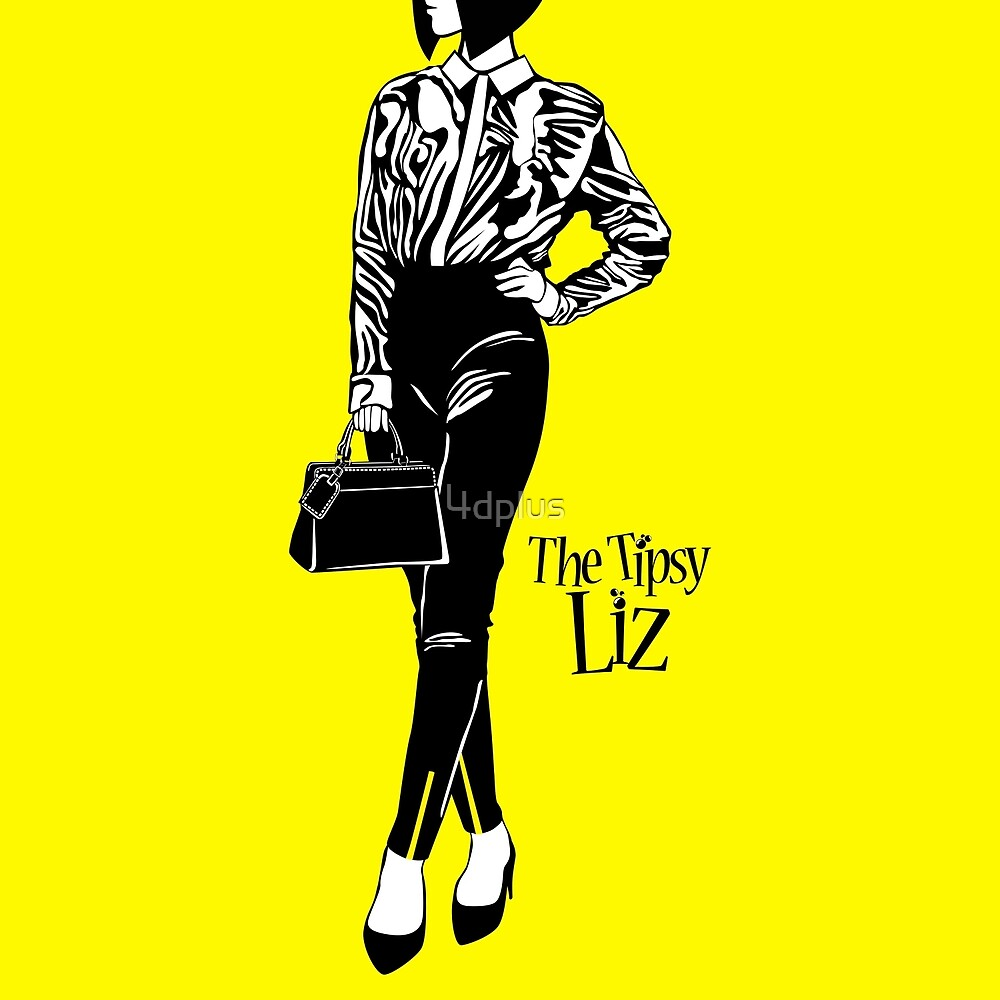The Tipsy Liz Dressing up is a part of self-confidence by 4d plus
