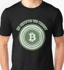 BITCOIN - In Crypto We Trust Unisex T-Shirt