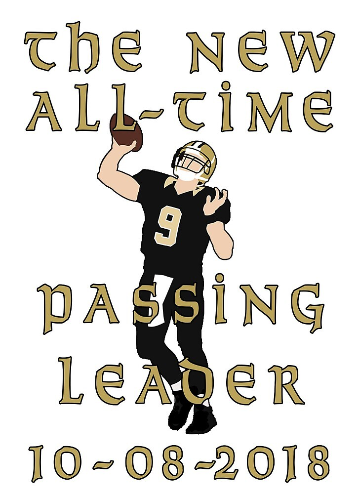 Number 9, All-time Passing Leader by TurnUpTheBacon