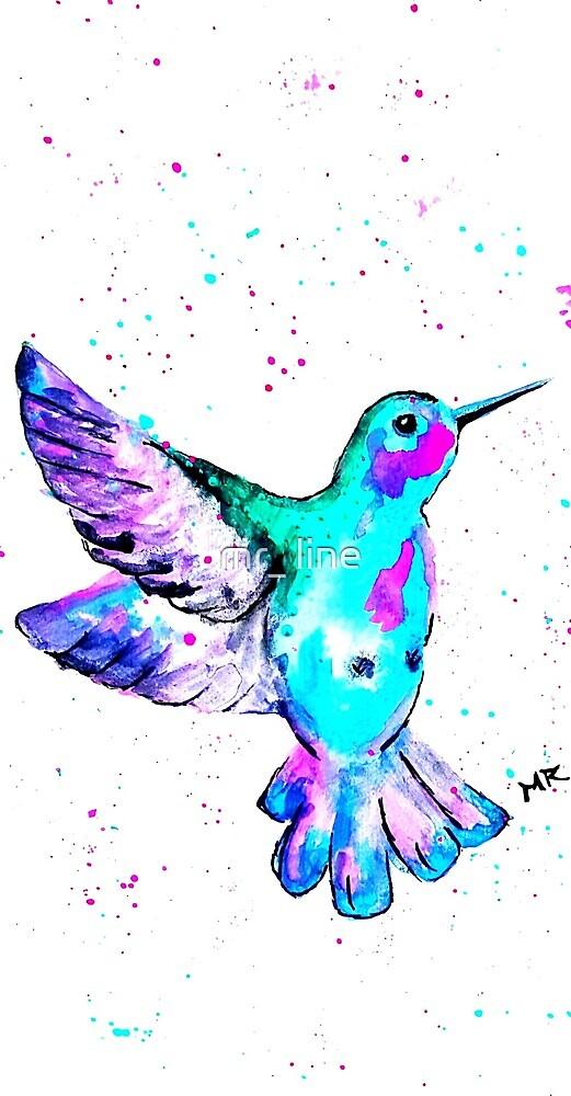 mr_hummingbird by mr_ line