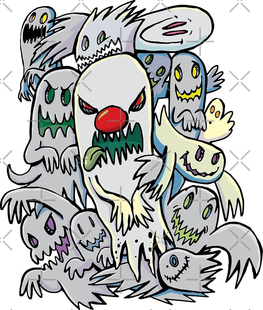 Horror ghost team by duxpavlic
