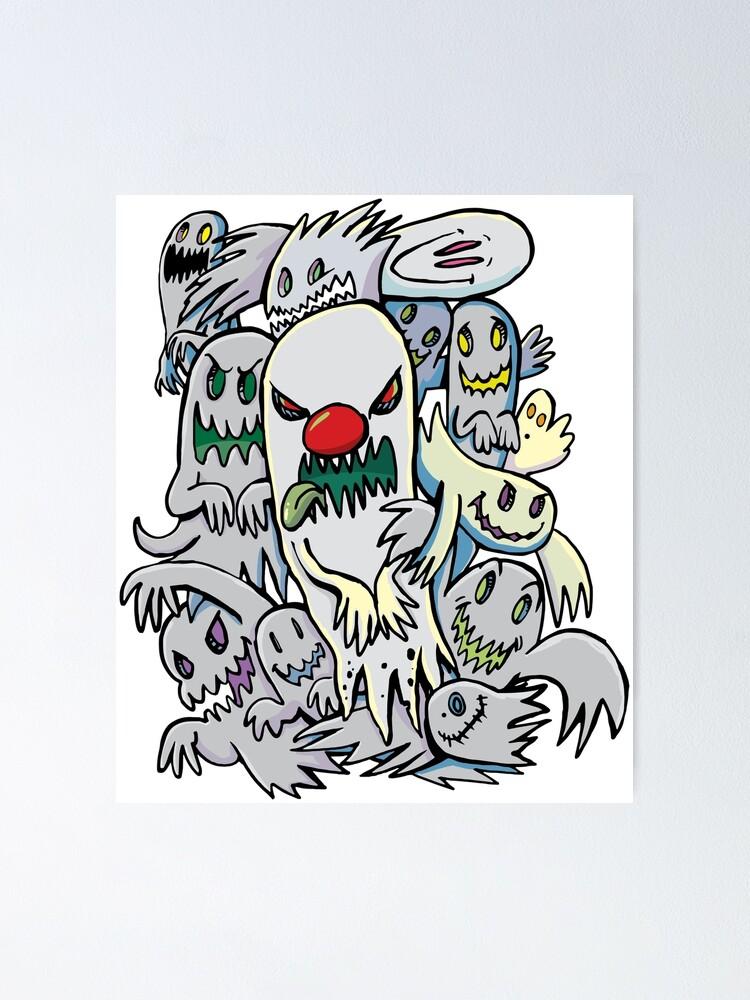 Alternate view of Horror ghost team Poster