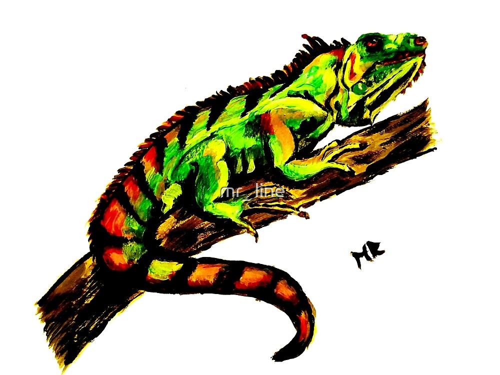 mr_iguana by mr_ line