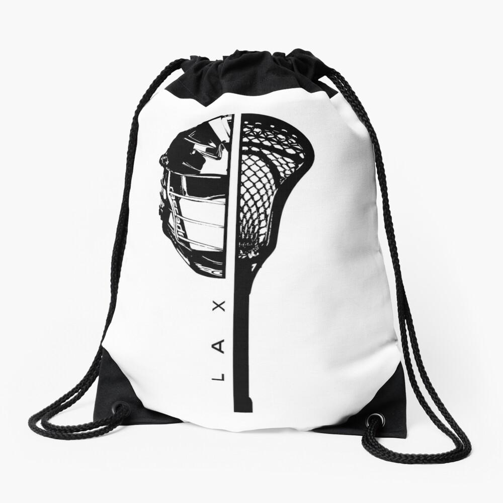 Lacrosse Drawstring Bag