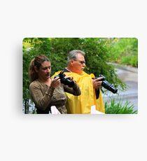 Camerafriends ~ Canon versus Nikon Canvas Print