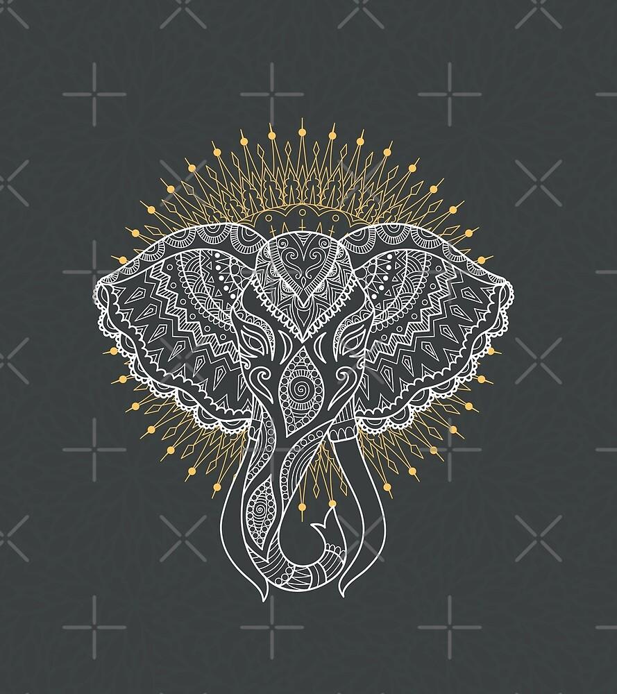 Elephant Spirit Animal by gr3gg