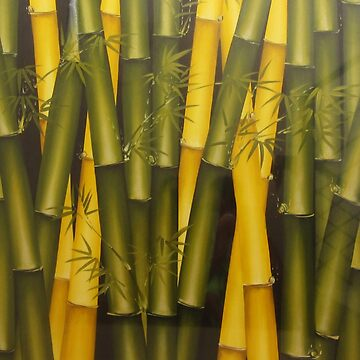 Art Bamboo Painting by vermontkasam